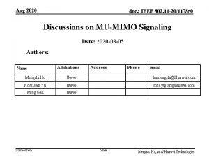 Aug 2020 doc IEEE 802 11 201178 r