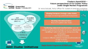 Clusters post 2020 Future perspectives of EU Cluster
