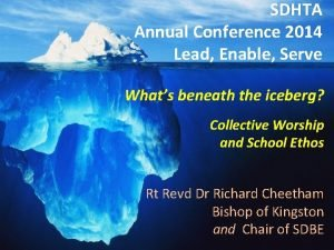 SDHTA Annual Conference 2014 Lead Enable Serve Lead