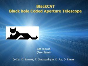 Black CAT Black hole Coded Aperture Telescope Abe