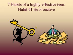 7 Habits of a highly effective teen Habit