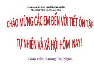 PHNG GIO DC HUYN NGHI XU N TRNG