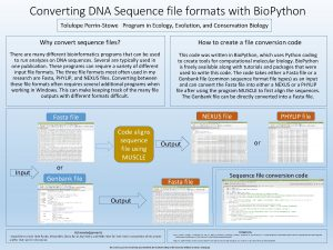 Converting DNA Sequence file formats with Bio Python