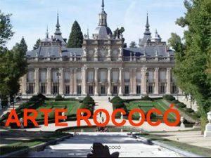 ARTE ROCOC 150109 ARTE ROCOC ARTE ROCOC Dnde