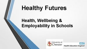 Healthy Futures Health Wellbeing Employability in Schools Our