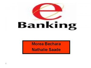 Morea Bechara Nathalie Saade 1 Plan Introduction Dfinition