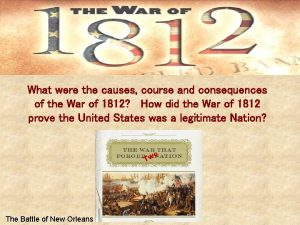 What were the causes course and consequences of