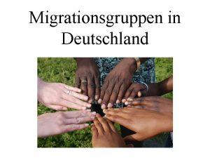 Migrationsgruppen in Deutschland Arbeitsmigration Fallbeispiel Xavier aus Spanien