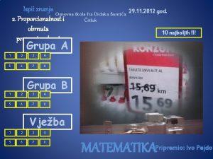 Ispit znanja Osnovna kola fra Didaka Buntia 2