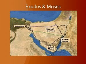Exodus Moses Exodus Moses No substantial evidence other