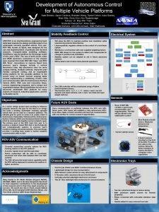 Development of Autonomous Control Autonomous Vehicle for Multiple