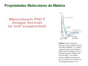 Propriedades Moleculares da Matria Obs os lquidos possuem