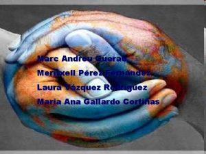 Marc Andreu Guerao Meritxell Prez Fernndez Laura Vzquez