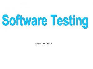 Ashima Wadhwa Coding The coding phase of the