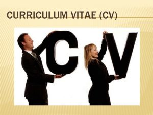 CURRICULUM VITAE CV TA JE CURRICULUM VITAE CV