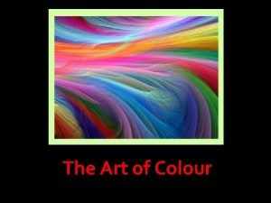 The Art of Colour colour MIXING Tints and