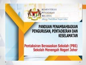 MATLAMAT Panduan Penambahbaikan Pengurusan Pengoperasian dan Keselamatan PPPPK