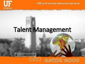 Talent Management Talent Acquisition and Recruitment Process Classification