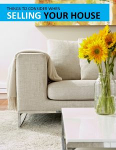 THINGS TO CONSIDER WHEN SELLING YOUR HOUSE TABLE