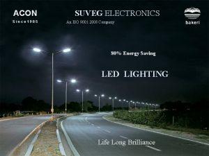 ACON Since 1985 SUVEG ELECTRONICS An ISO 9001