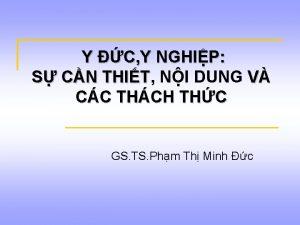 Y C Y NGHIP S CN THIT THIT