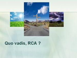 Quo vadis RCA RCA asigurare cu caracter social