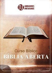 Curso Bblico BBLIA ABERTA Curso Bblico Bblia Aberta