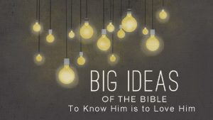 To Know Him is to Love Him To