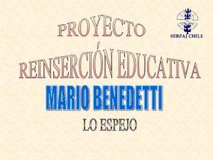 MARCO TERICO La escuela vista como un sistema