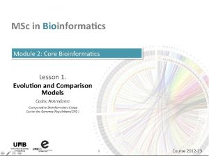 Comparing Two Protein Sequences Cdric Notredame 21112020 Comparing