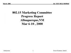 March 2000 doc IEEE 802 15 00096 r