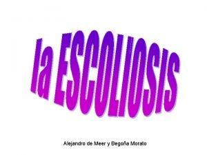 Alejandro de Meer y Begoa Morato Hablaremos de
