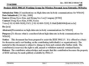 doc IEEE 802 15 08 0447 00 0000