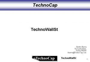 Techno Cap Techno Wall St Estelle Havva Viceprsidente