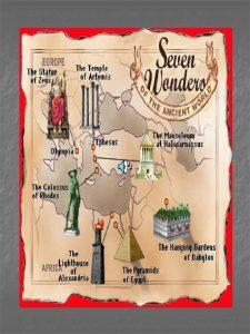 THE ANCIENT SEVEN WONDERS OF WORLD n n