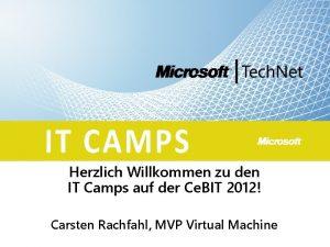 Herzlich Willkommen zu den IT Camps auf der