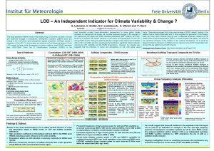 Institut fr Meteorologie LOD An Independent Indicator for