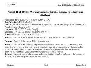 Oct 2015 doc IEEE 802 15 15 0801