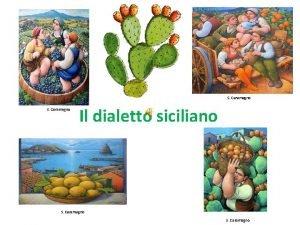 S Caramagno Il dialetto siciliano S Caramagno Il
