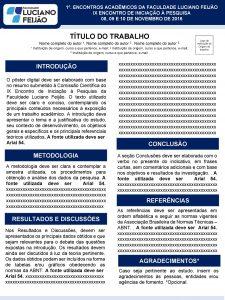 1 ENCONTROS ACADMICOS DA FACULDADE LUCIANO FEIJO IX
