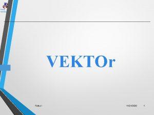 Keep running VEKTOr Fisika I 11212020 1 Keep