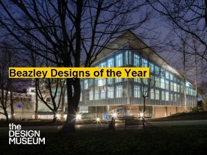 Beazley Designs of the Year Introduction Themes Designs