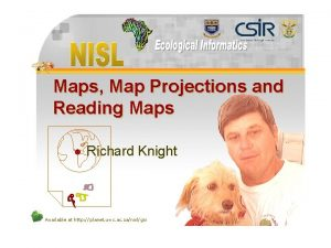 Maps Map Projections and Reading Maps l Richard