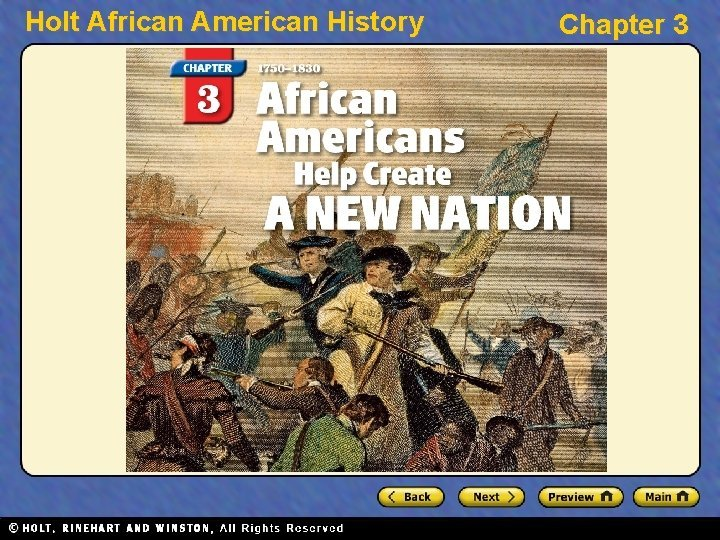 Holt African American History Chapter 3 Holt African
