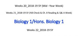 Weeks 202018 19 SY Mid Year Week Weeks