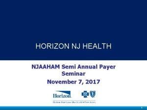 www horizon NJhealth com Horizon NJ Health HORIZON