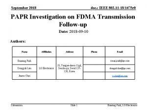 September 2018 doc IEEE 802 11 181475 r