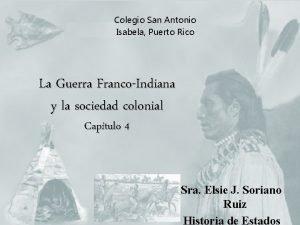 Colegio San Antonio Isabela Puerto Rico La Guerra