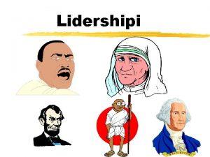 Lidershipi ka sht lidershipi Udhheqja e njerzve Ndikimi