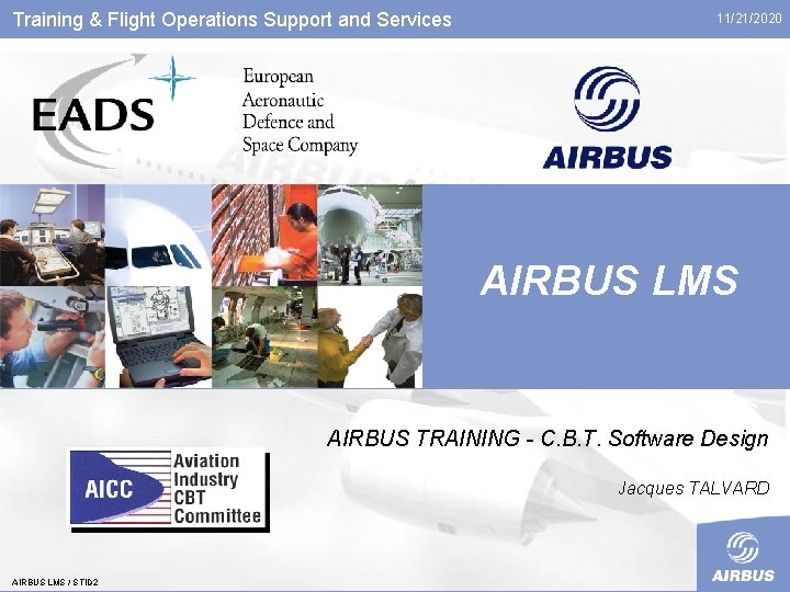 Training Flight Operations Support and Services 11212020 AIRBUS